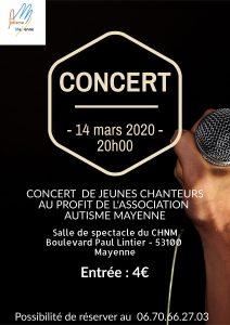 Concert à Mayenne @ Salle de spectacle de l'Hopital